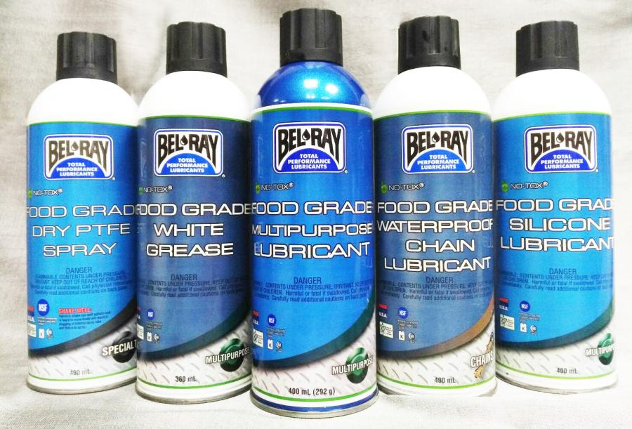 Bel-Ray Food Grade Aerosol  (Spray Lubricant)